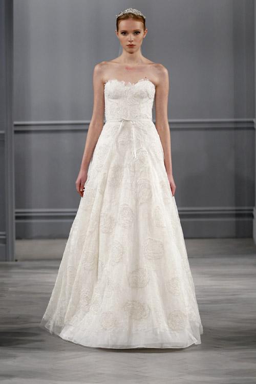 Monique Lhuillier Wedding Dresses Spring Summer 2013 Collection
