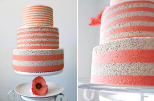 modern entremet wedding cakes by MRobin Cake Design | via junebugweddings.com