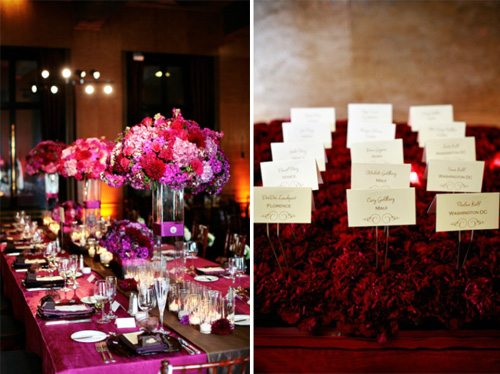 Floral design by Nancy Liu Chin, photos by Jennifer Skog Photography | junebugweddings.com