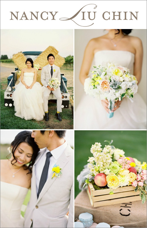 Floral design by Nancy Liu Chin, photos by Jose Villa | junebugweddings.com