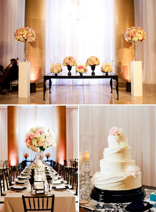 Floral design by Nancy Liu Chin, photos by Lisa Lefkowitz | junebugweddings.com