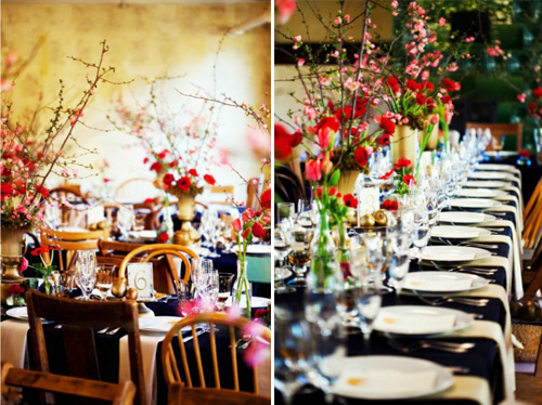 Floral design by Nancy Liu Chin, photos by Greg Slick Photography | junebugweddings.com