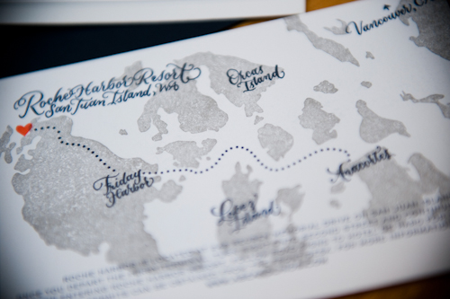 Nautical and Secret Garden inspired wedding on San Juan Island with photos by Laurel McConnell Photography | junebugweddings.com