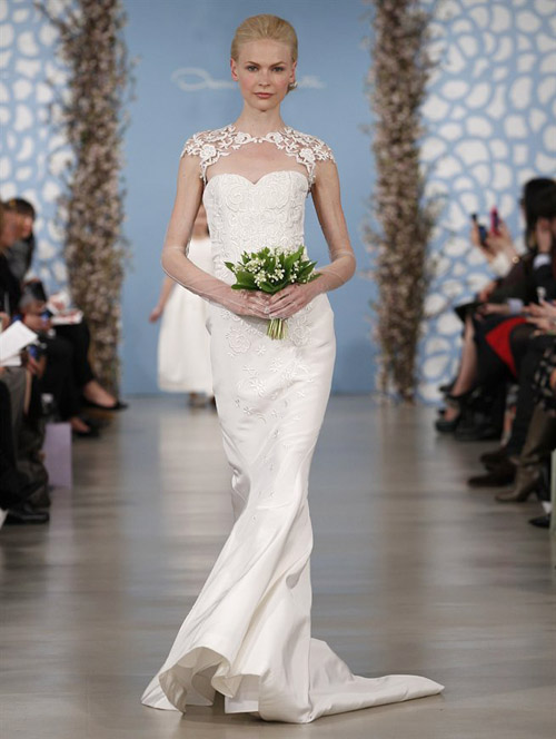 Oscar De La Renta Wedding Gowns 2014