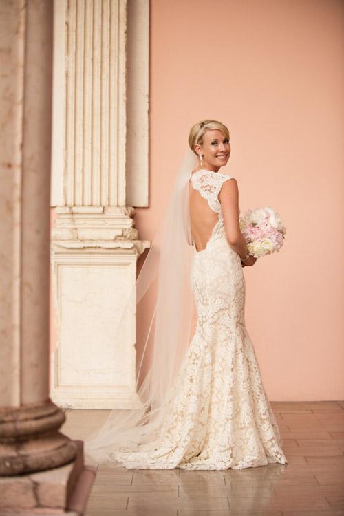 Clic Vintage Pink And Gray Wedding At The Ritz Carlton Sarasota Fl