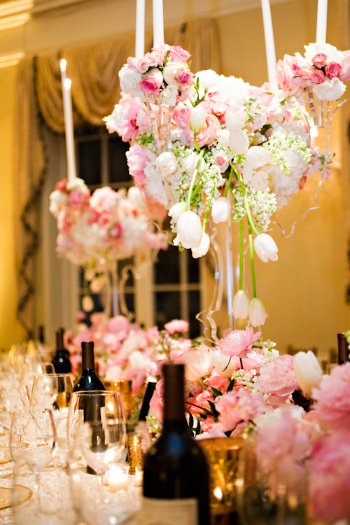 glamorous wedding with Christopher Confero as designer and planner, photos by Ann Wade Parish Photography and Arden Photography | junebugweddings.com