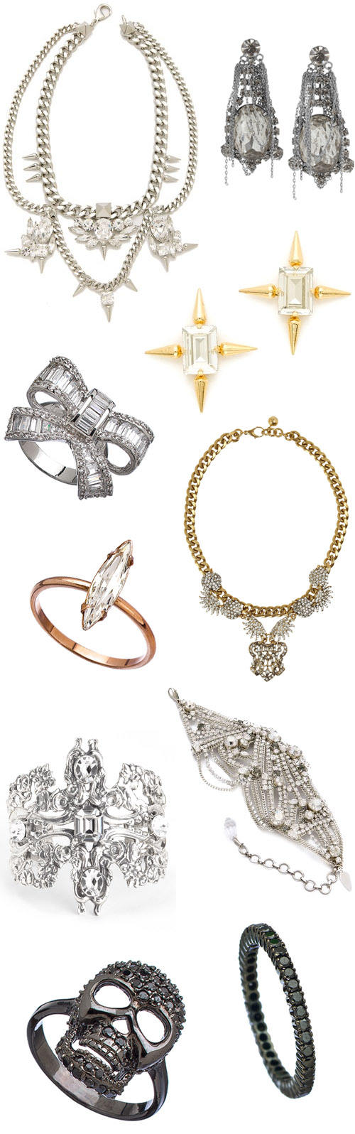 rock and roll bridal jewelry junebug weddings