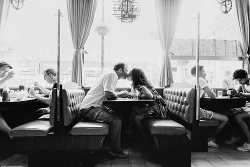 romantic and intimate engagement photo by Heather Waraksa of Heather Waksa Photography | junebugweddings.com