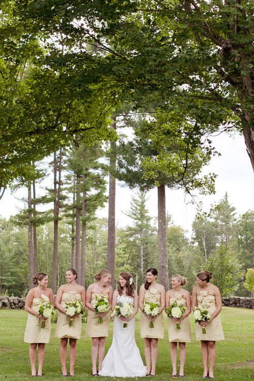 Rustic outdoor New Hampshire barn wedding - photo by Emily Delamater ...