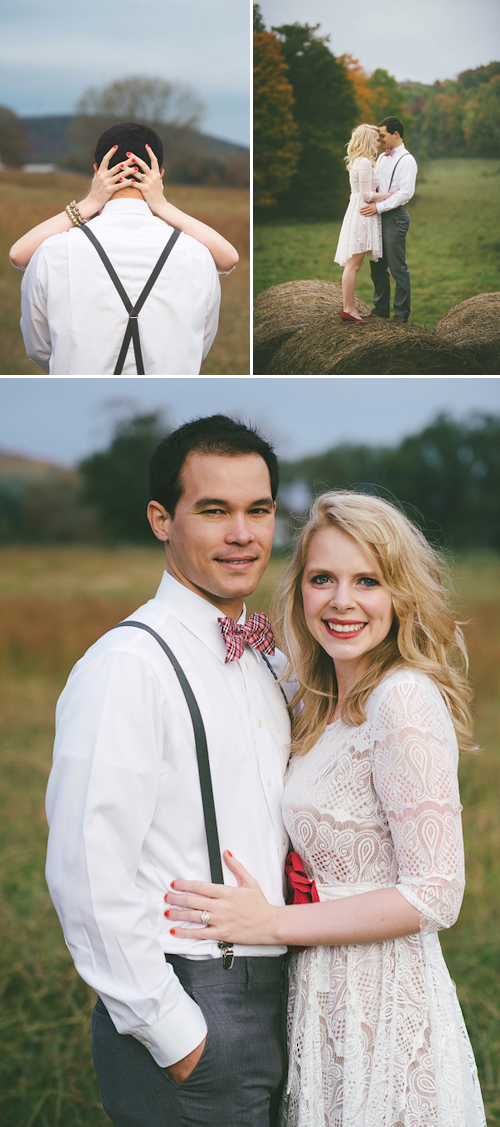 Valentine's theme engagement shoot from Jessie Holloway Photography| junebugweddings.com