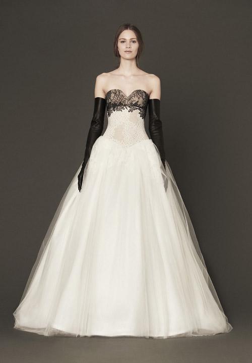 Vera Wang Wedding Dresses - Spring 2014 Collection | Junebug Weddings