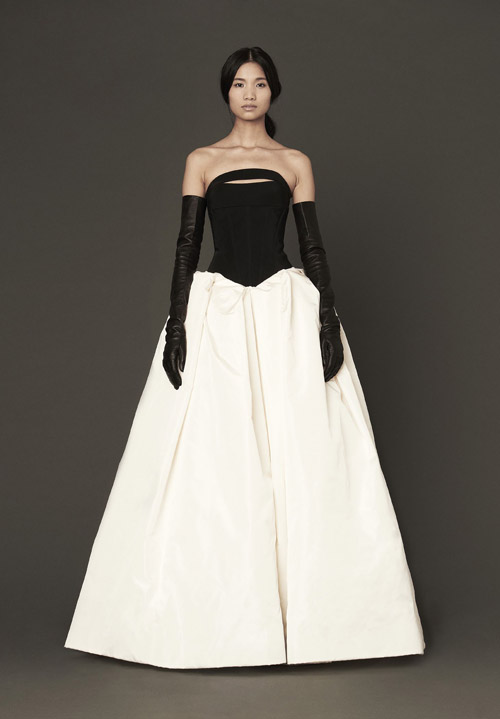 Vera Wang Wedding Dresses Spring 2014 Collection Junebug Weddings
