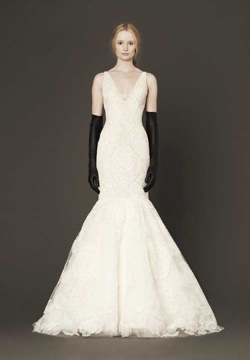 Vera Wang Wedding Dresses - Spring 2014 Collection | Junebug Weddings