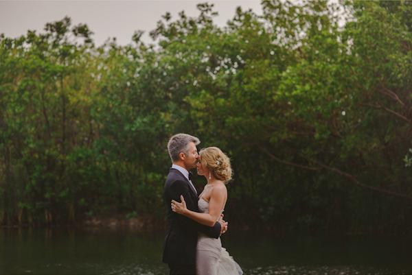 wedding at Fairmont Mayakoba Hotel in Playa Del Carmen, Mexico, photo by Fer Juaristi | via junebugweddings.com