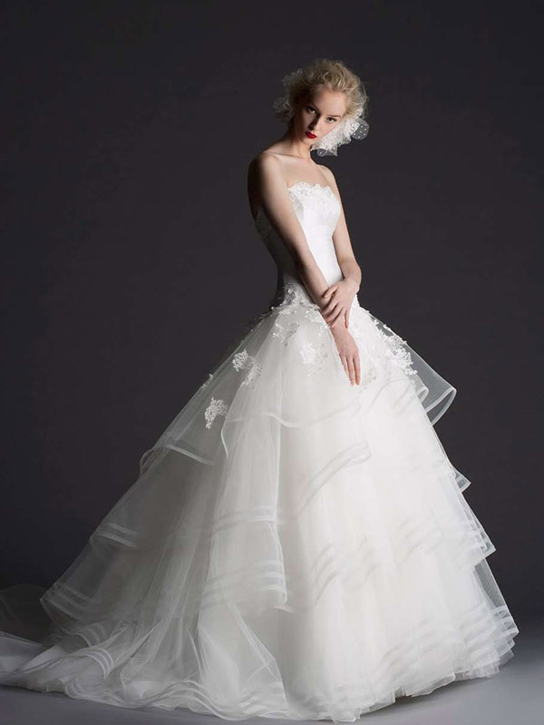 Parisian Wedding Dresses 10 Inspirational