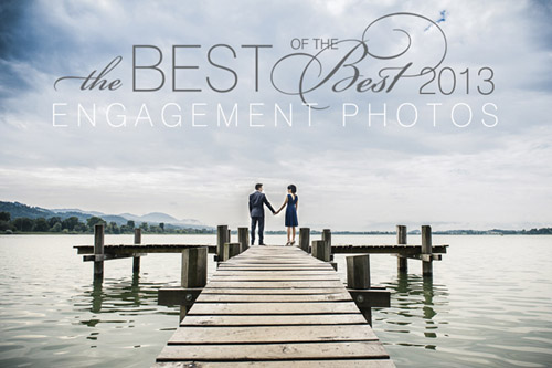 Best of the Best winning engagement photo by Andreas Feusi | junebugweddings.com