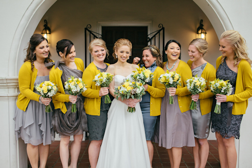 Yellow And Gray Wedding In St Augustine Florida Photos By Brooke Images