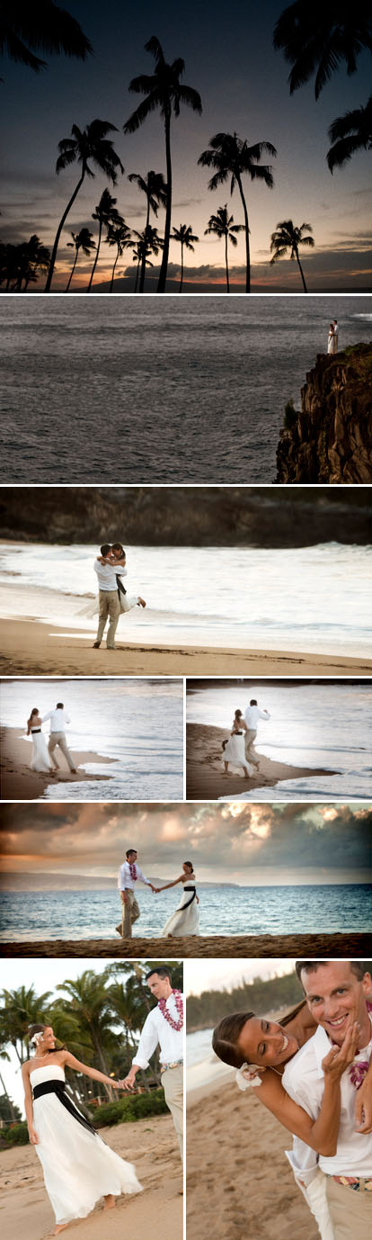 J Garner Photography, destination wedding photography in Maui, Hawaii