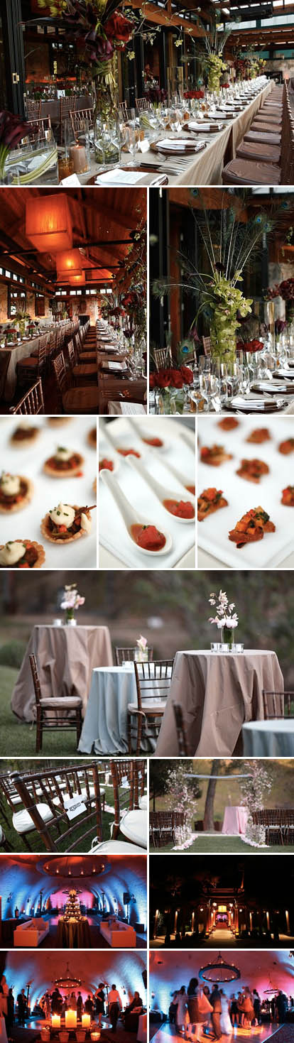 Calistoga Ranch, California wine country wedding ceremony and wedding reception venue