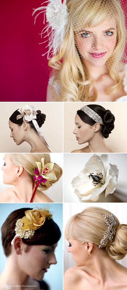 bridal hair accessories and wedding veil alternatives