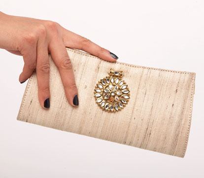 dreamy bridal clutch from Lukab and Motwani- sign up to win it!