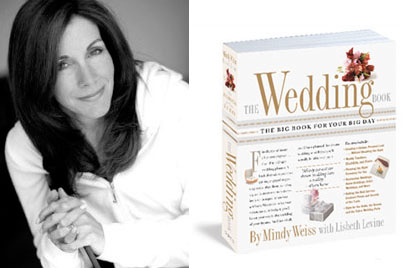 Mindy Weiss wedding and event planner, wedding planning book