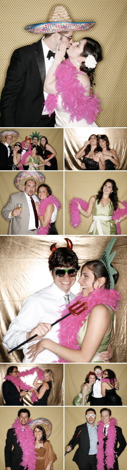 Photomaton Chic wedding photo booth images from Vane of Brooklyn Bride Blog