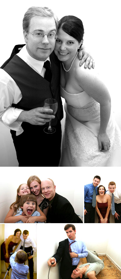 wedding photo booth image by La Vie Photography