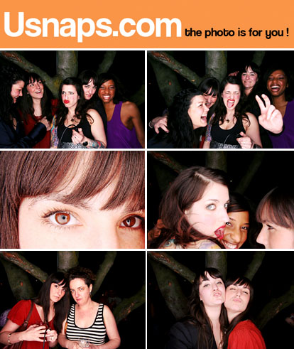 USnaps.com digital photo booth images
