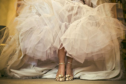 Beautiful wedding high heels, image by Amelia Lyon Photography