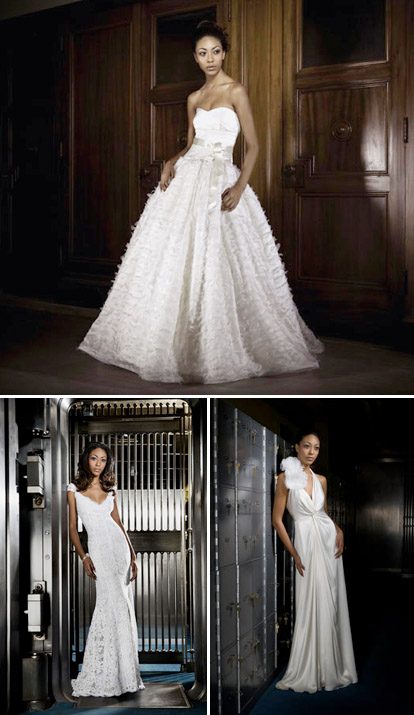 Alina Pizzano Couture Bridal trunk show in Pasadena California