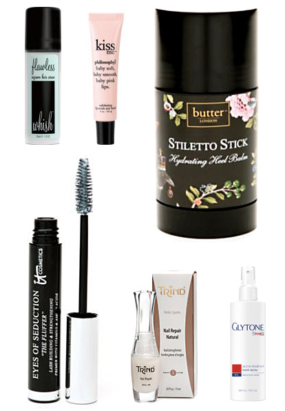 Beauty treatments and skin care products for brides-to-be