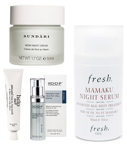 Moisturizing night creams for brides-to-be