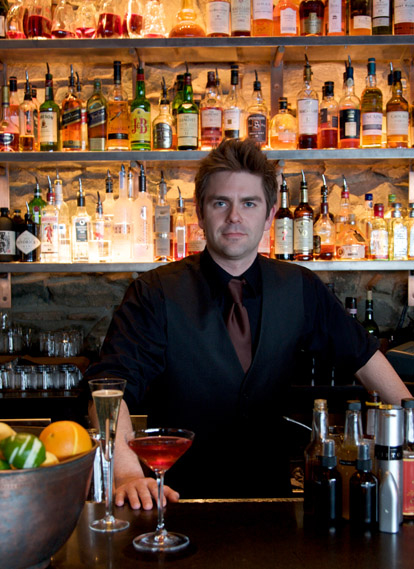James MacWilliams- bartender at Seattle's famous Canlis Restaurant