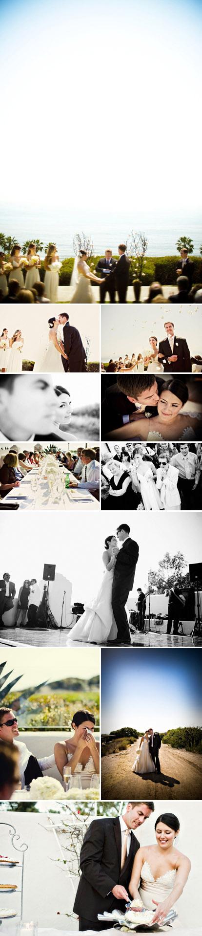 Outdoor California Real Wedding and wedding reception, alternative wedding cake, Amelia Lyon Photography