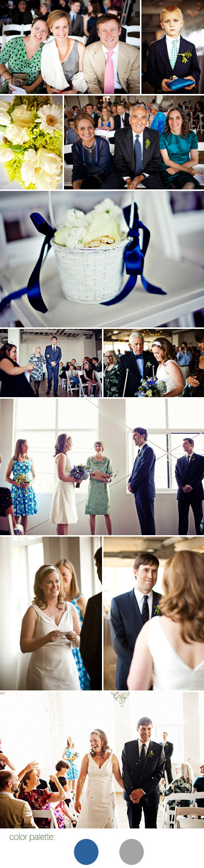Sean Flanigan Photography, blue and gray wedding color palette
