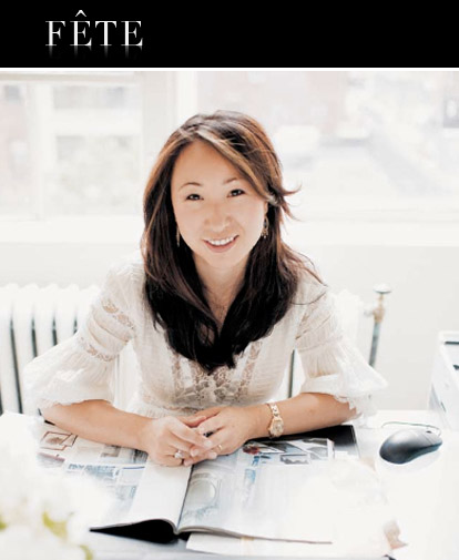 wedding and event planner Jung Lee of NYC's Fete