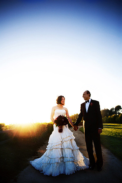 Luxurious wedding at Bacara Resort and Spa, Santa Barbara, California, images by Trista Lerit