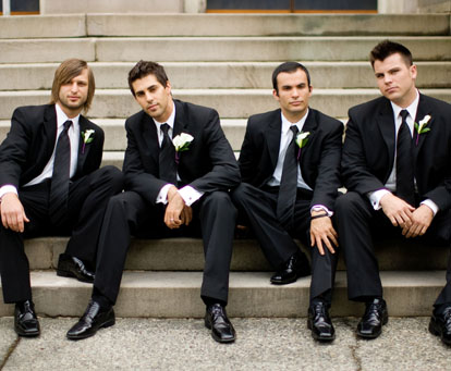 Men's dark formal suits for the groom, groomsmen and weddings, GH Kim Photography