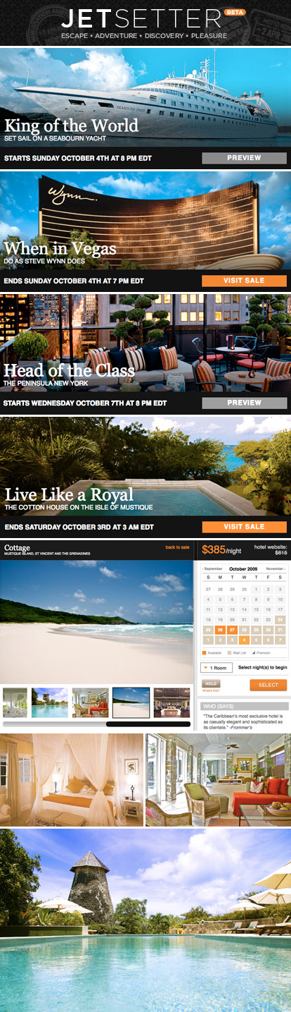 honeymoon hotel, resort and travel sales from Jetsetter.com, sister site to Gilt.com