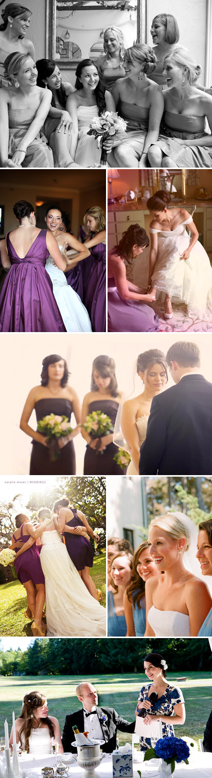 Choosing your maid of honor and bridesmaids for your wedding