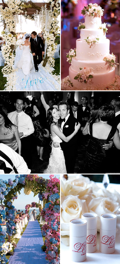 wedding ceremony and reception designs by Mindy Weiss, images via MindyWeiss.com