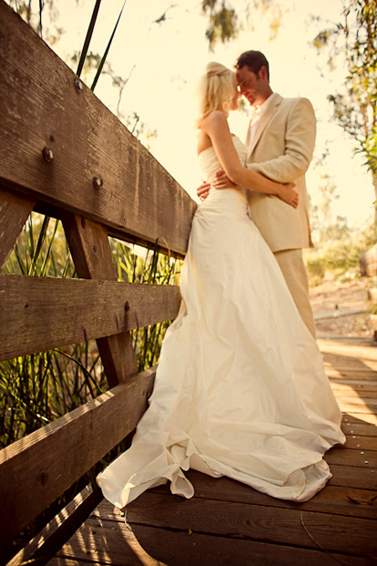 Summer San Diego wedding at Rancho Valencia Resort, image by Natalie Moser Photography