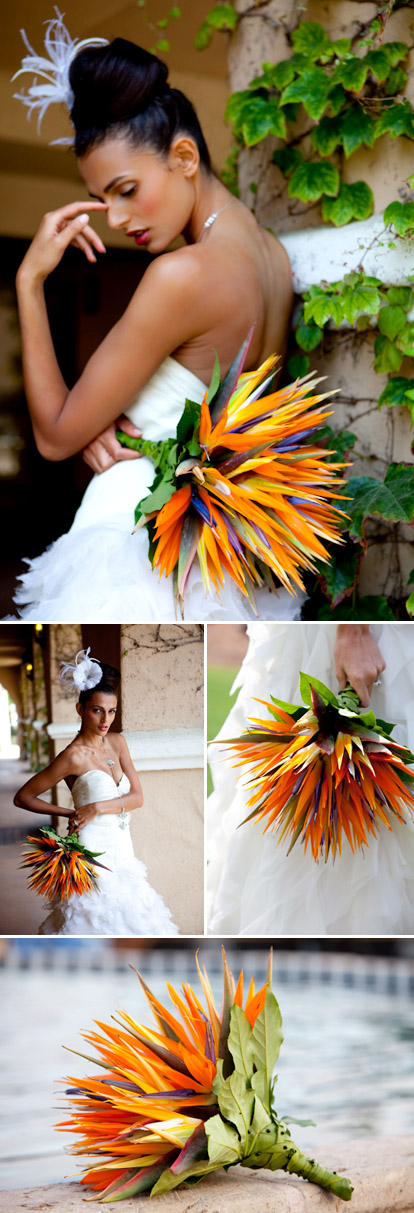 Wedding bouquets by kathy wright company junebug weddings for Bouquet exotique