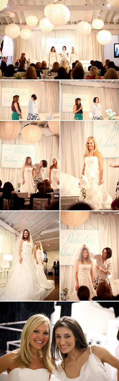 Mindy Weiss's Most Ridiculous Wedding Event Ever, Maradee Wahl from Carolina Herrera, Images by Junebug Weddings and GH Kim Photography