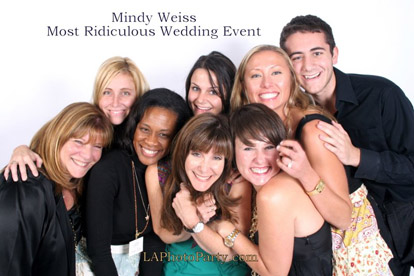 Mindy Weiss's Most Ridiculous Wedding Event Ever, Image by LA Photo Party
