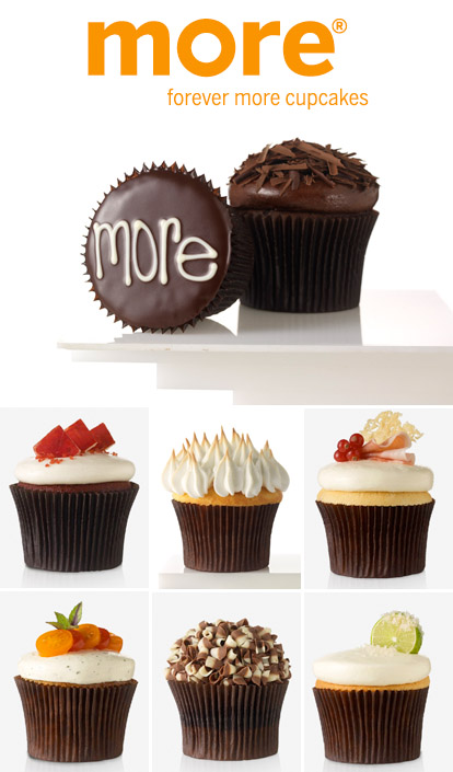 Chicago's gourmet cupcakes from More Cupcakes