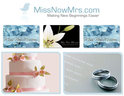 Miss Now Mrs. Name Change Service
