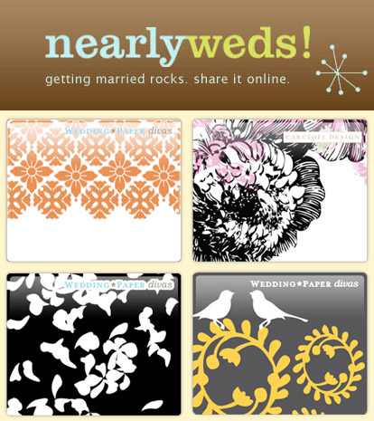 Personal and creative wedding websites from Nearlyweds