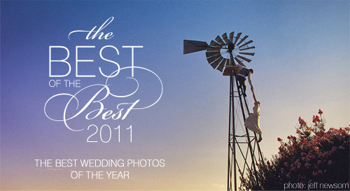 Winning photo from Junebug Weddings' Best of the Best 2011 by Jeff Newsom